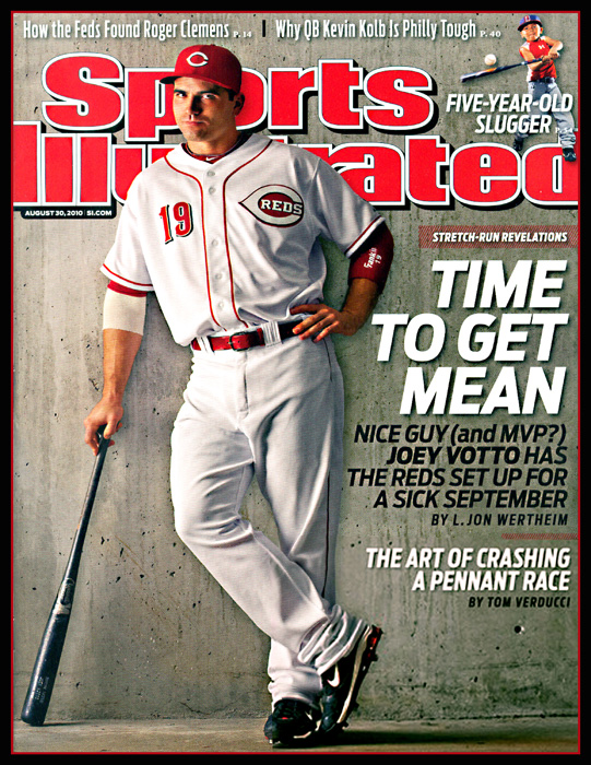 Joey Votto Sports Illustrated Cover