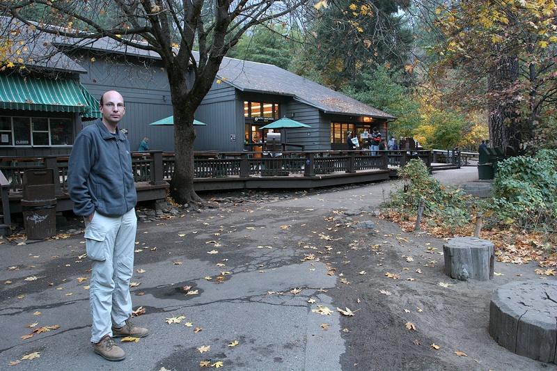 Jan in Curry Village (Yosemite)