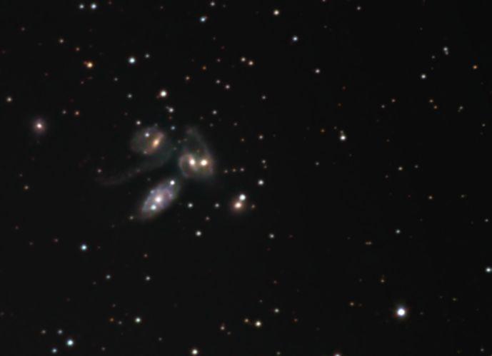 Stephans Quintet<br>(Arp 319)