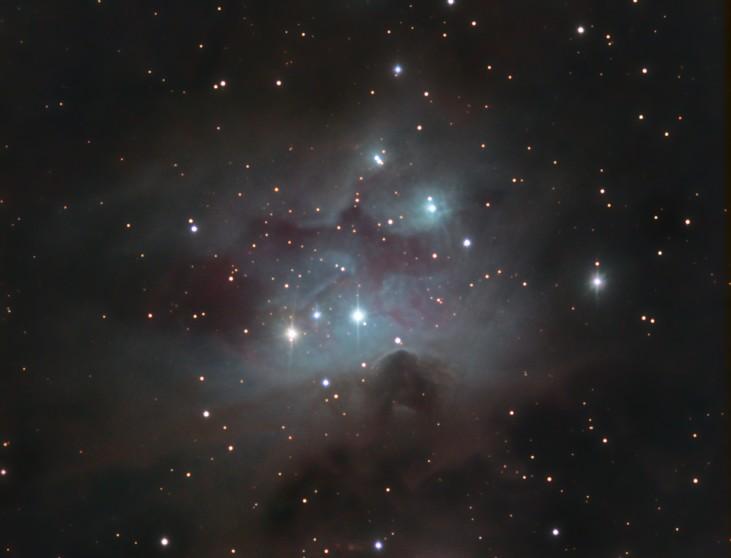 NGC 1973 1975, 1977 <br> Sh2-279