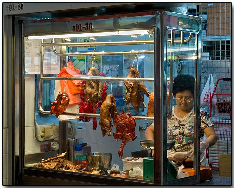 Cooked meat hawker - Fu Lu Shou Centre