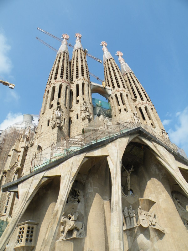 Sagrada Familia (Barcelona, Spain)