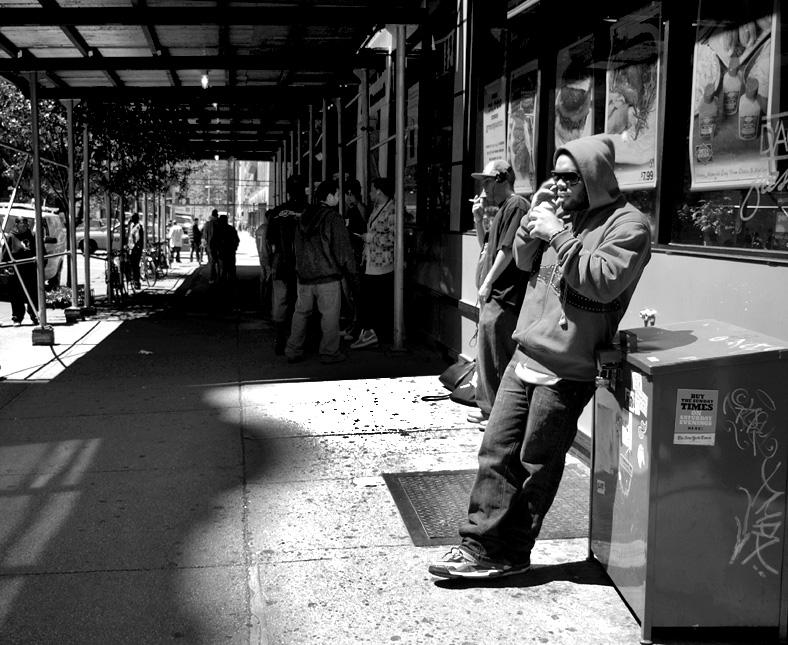 Hip hop street photography