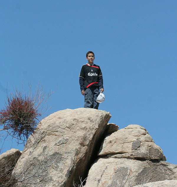 Jaime at Joshua Tree Park