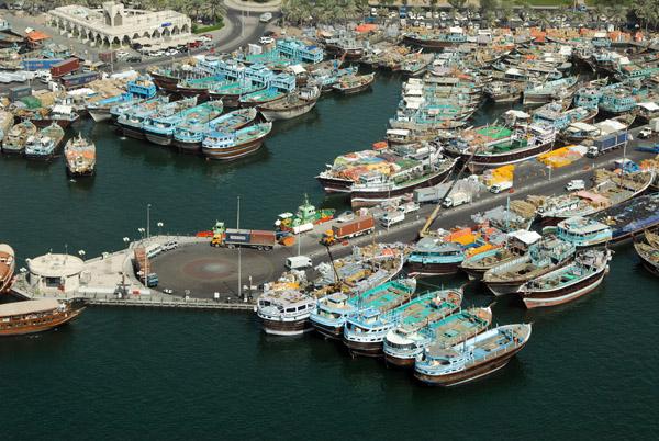 Port Saeed (Dhow Port) Dubai Creek, Deira