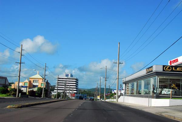 Marine Drive, Guam Highway One, headed to Hagåtña