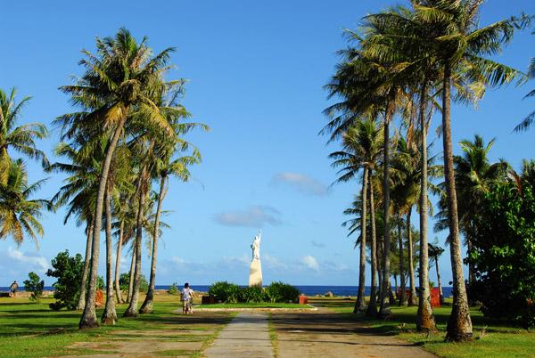 Hagåtña Statue of Liberty Park, Paseo de Susana