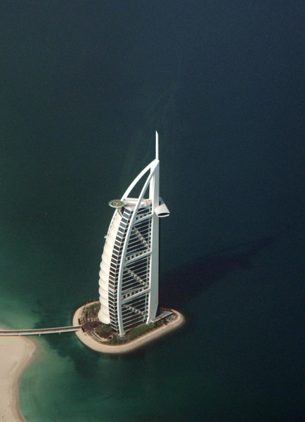 Burj al Arab aerial