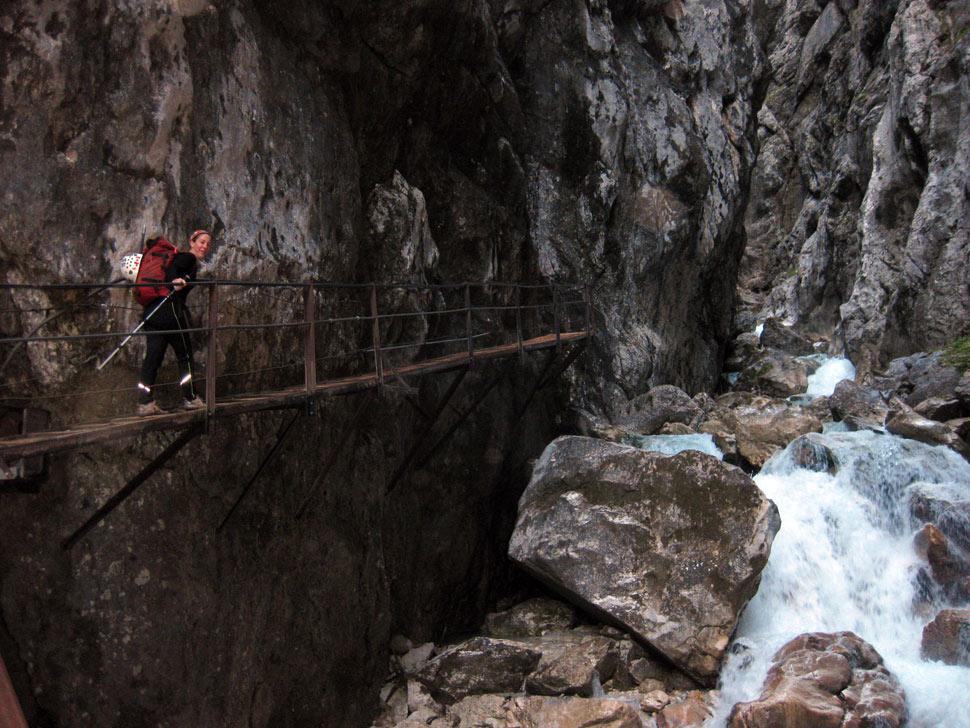 Zugspitze hollental gorge