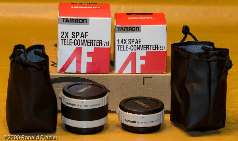 Tamron 1.4X and 2.0X Teleconverters