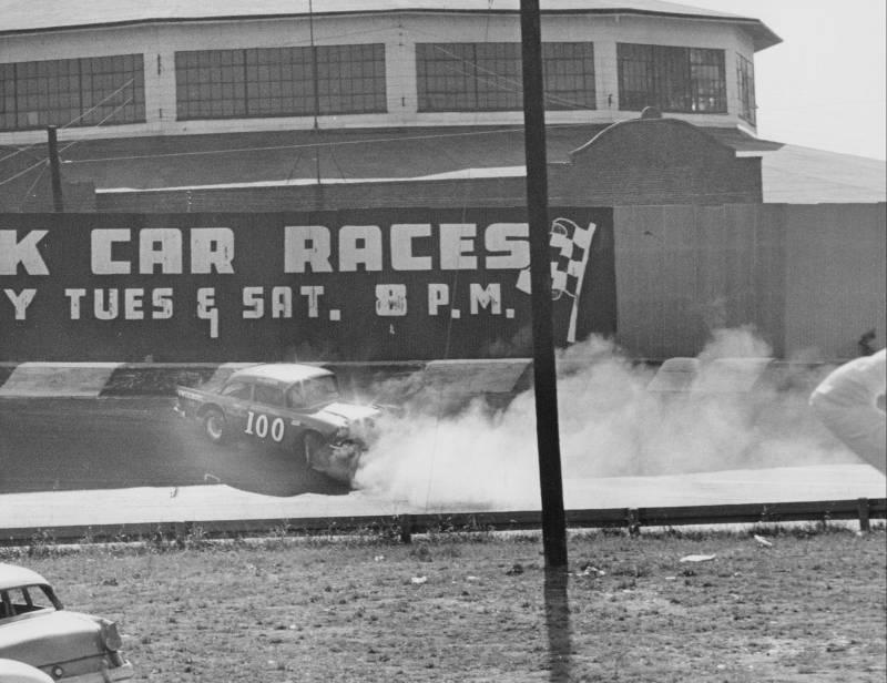 1966 Spin in turn 1 Car 100