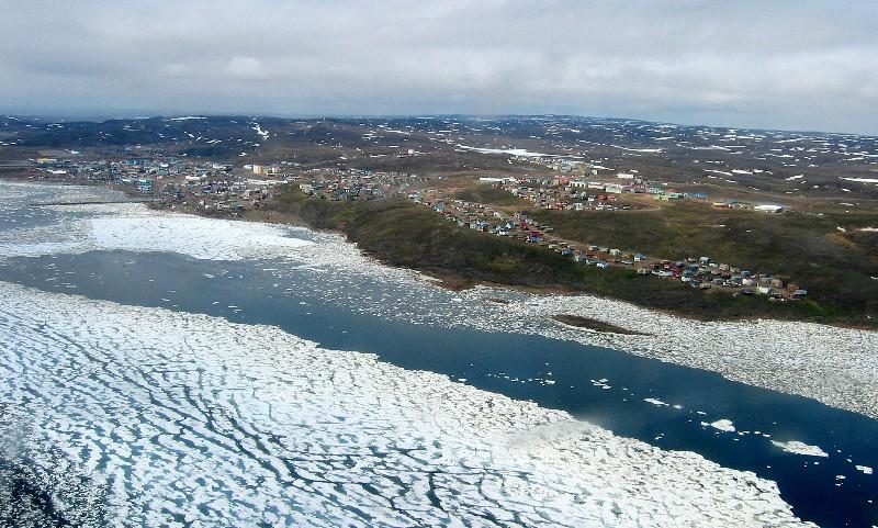 Coming into Iqaluit