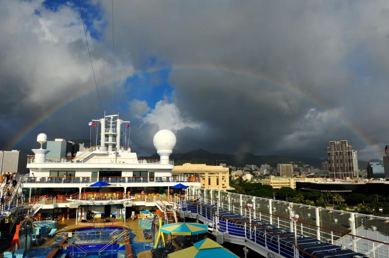 Rainbow of Hawaii.