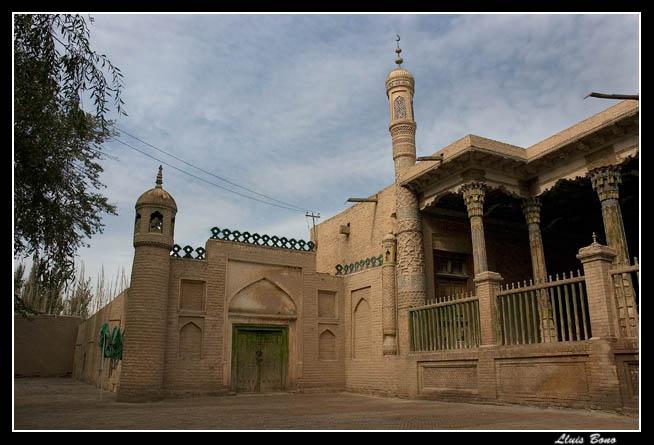 Abakh Hoja tomb mausoleum