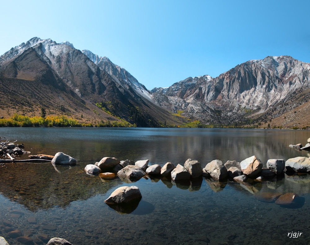 Convict Lake, Sierra Nevada Mts.