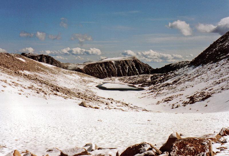 Summit Lake below Mono Pass