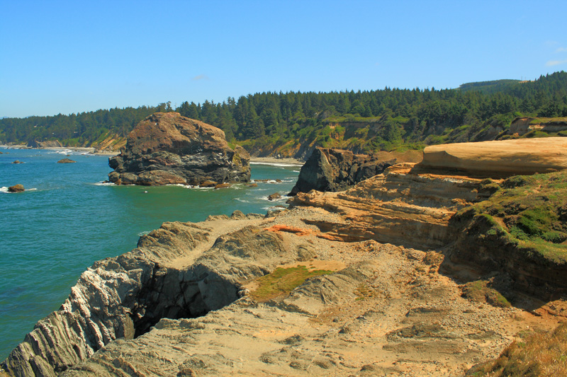 Otter Point Rock Formations