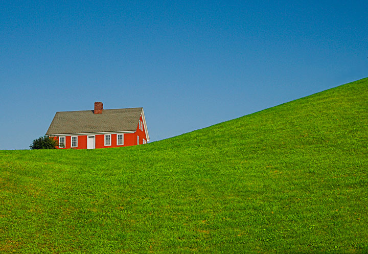 Red House & Green Slope