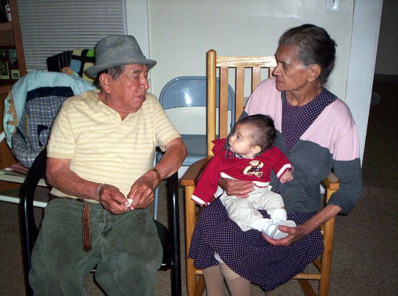 En Boston con mis bisabuelos