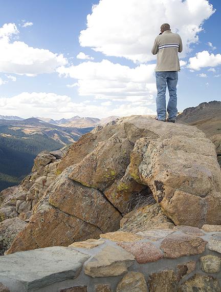 Paul On An Overlook