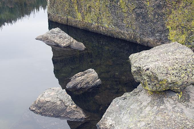 Rocks At Lake Haiyaha