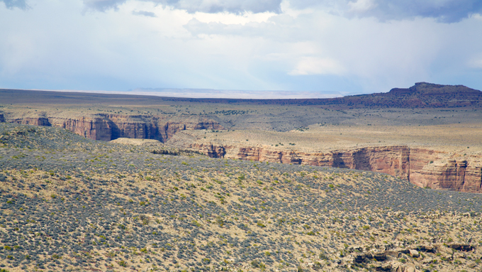 Another Rugged Landscape In Arizona