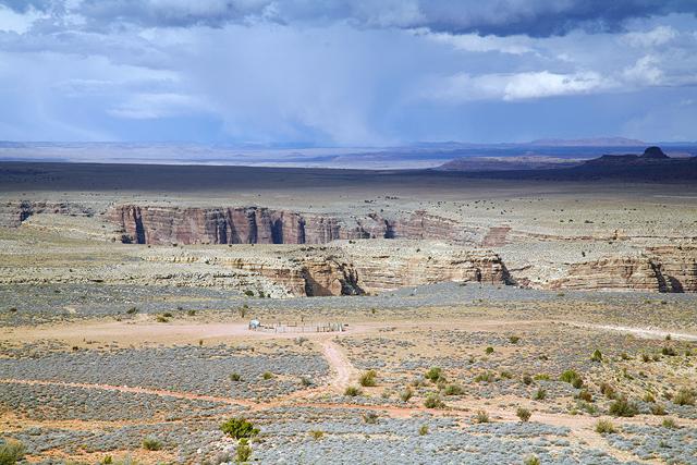 A Rugged Landscape In Arizona