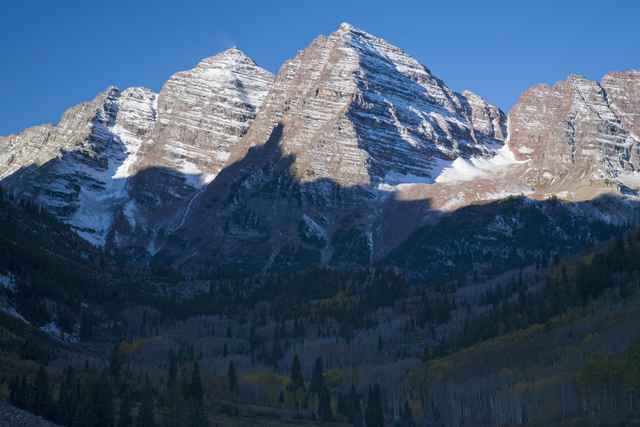 Maroon Bells, Early Light