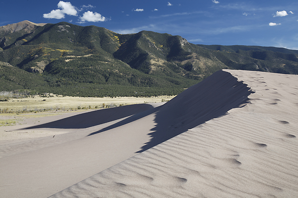 Sand And Mountains