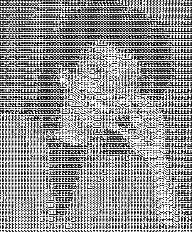 Lux ASCII Art