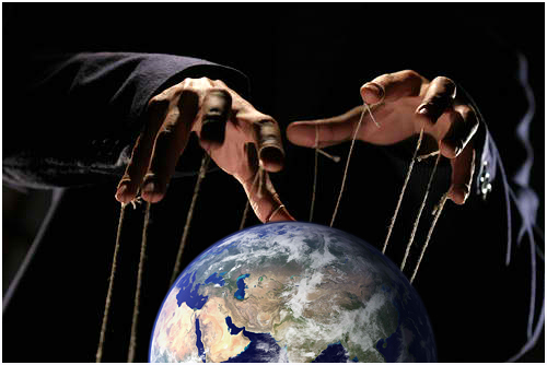 The puppet masters of earth