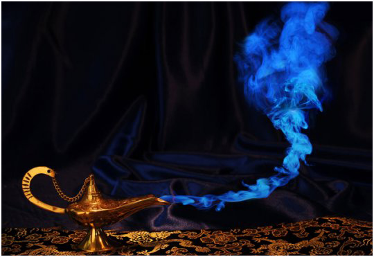 Letting the Genie (Jinn) out of the lamp