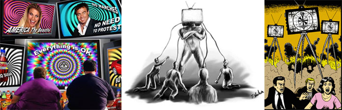 TV mind control, hypnosis and social programming