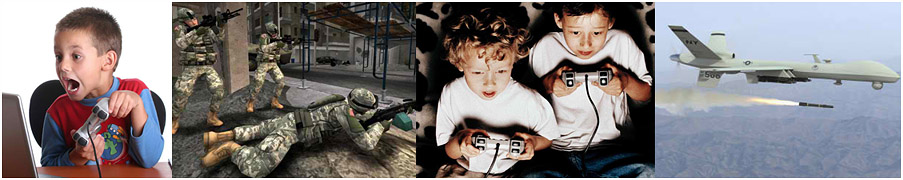 Video games conditioning children for careers in the military