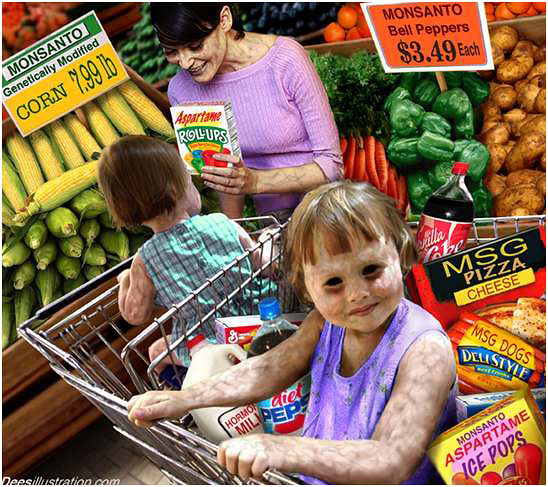 Monsanto, GMO and poisoning of children
