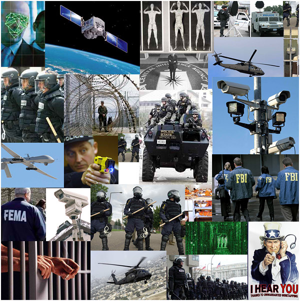 The police state is massive and it is growing rapidly