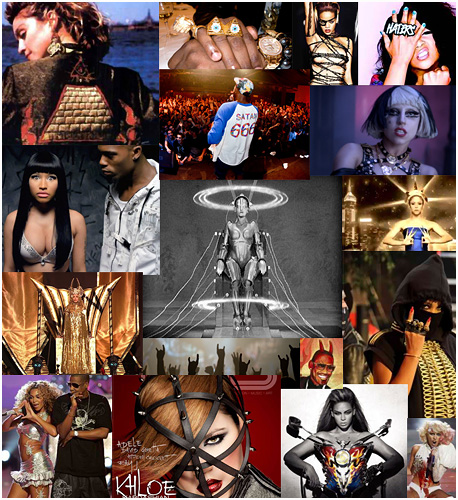 Dark Satanic imagery in music and entertainment