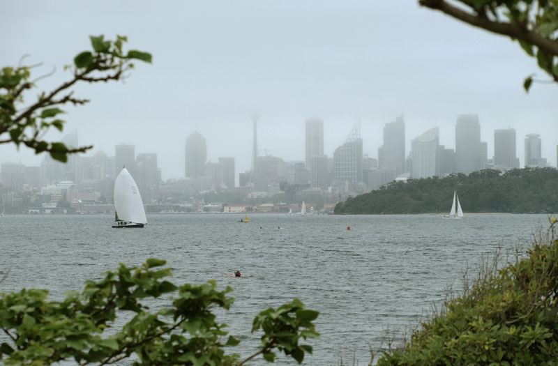 Sydney Harbour from Green Point
