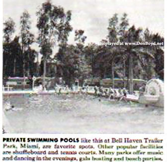 Phenomenal 1953 The Bell Haven Trailer Park Pool Featured In An Ad Download Free Architecture Designs Oxytwazosbritishbridgeorg