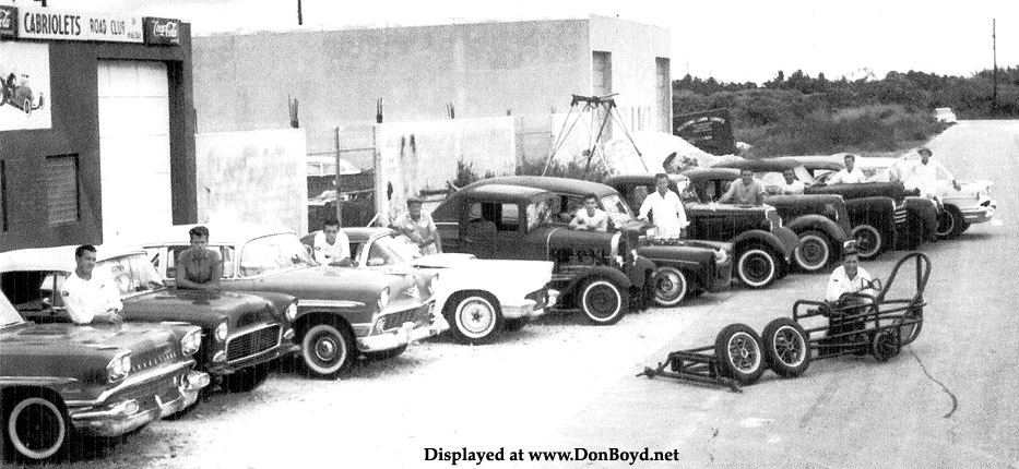 1960 or 1961 - Harry Steeles Cabriolets Road Club in Hialeah