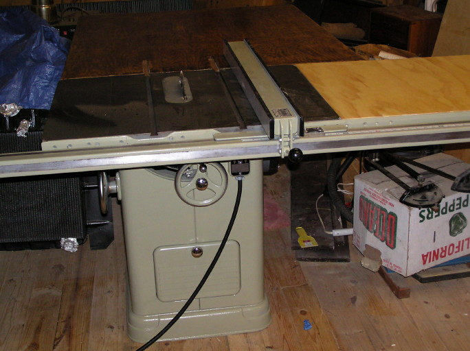 Want to buy a new table saw the garage journal board and after i painted it and put my old biesemeyer fence on it you can buy one heck of a lot better vintage table saw for 500 than a new one greentooth Images