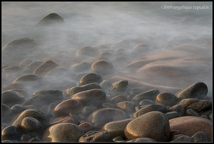 misty surf