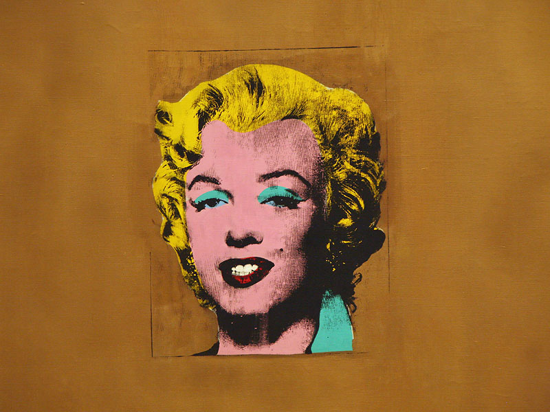 Andy Warhol : Gold Marilyn Monroe - 1962