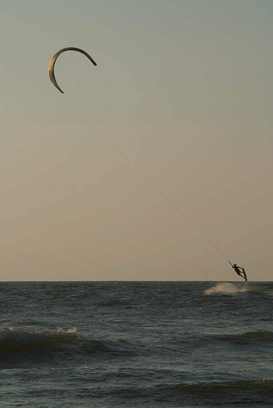Kite Surfer Jumping Mandrem 03