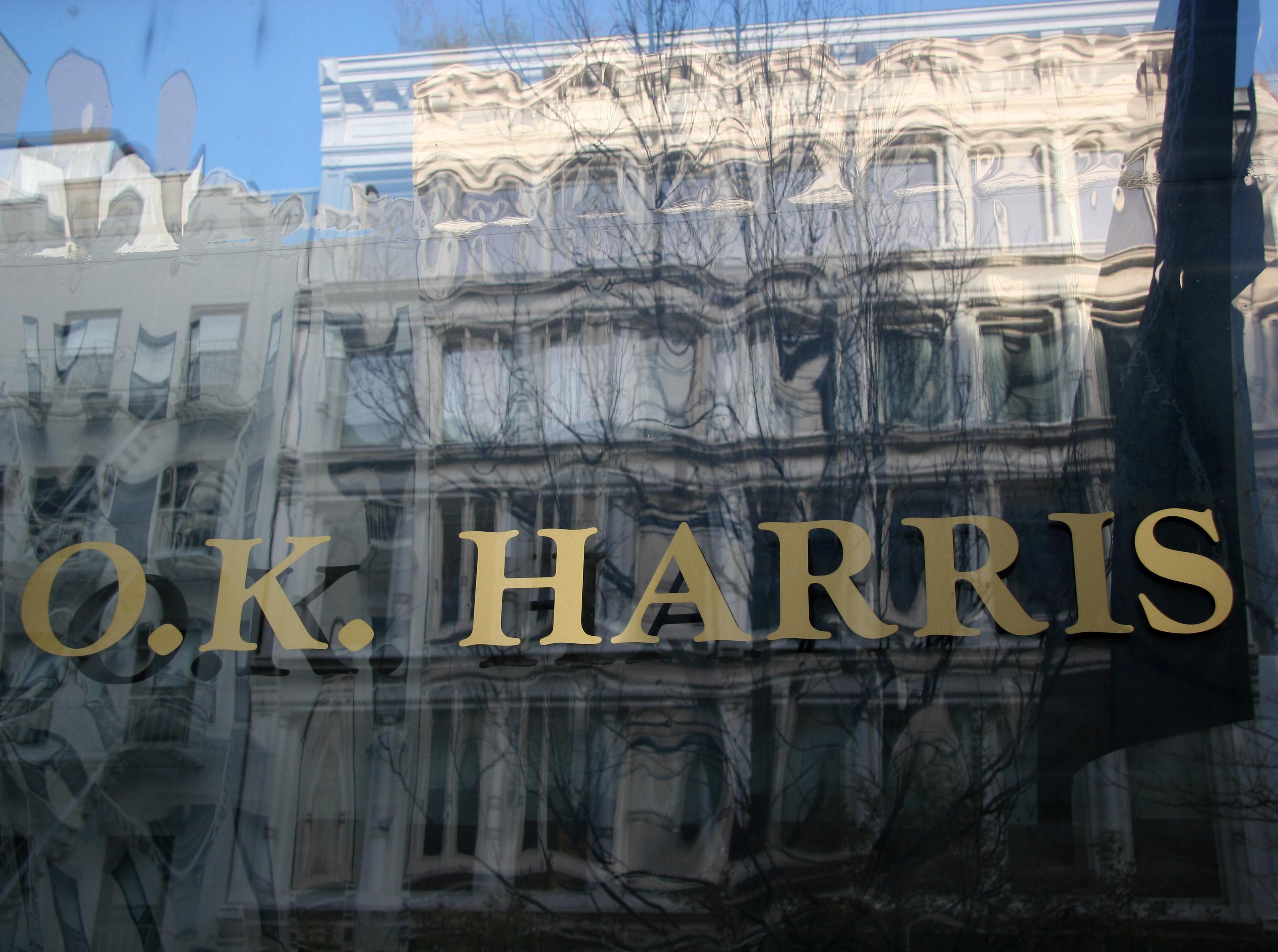 O. K. Harris Gallery Window