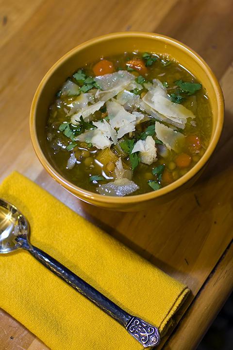 Lentil & Butternut Squash Soup