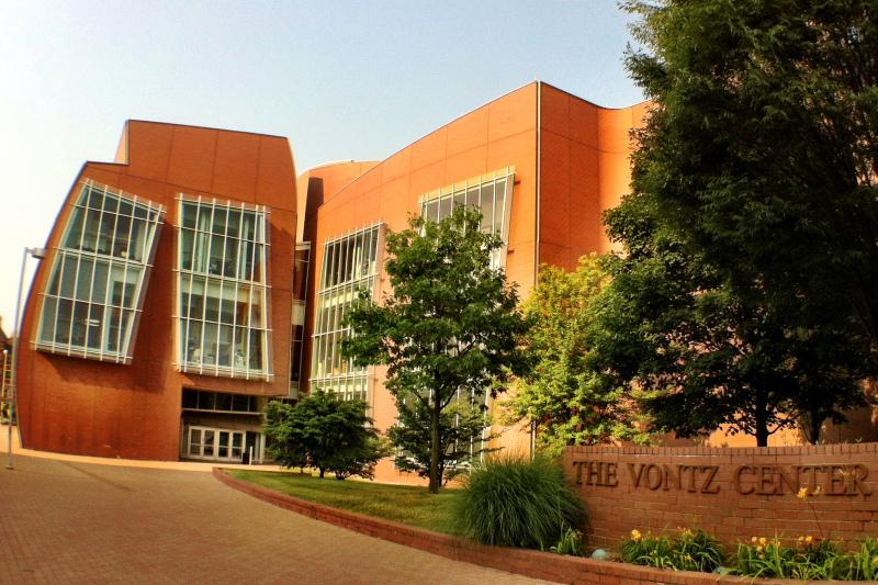 University of Cincinnati - Frank Gehry designed Vontz Center
