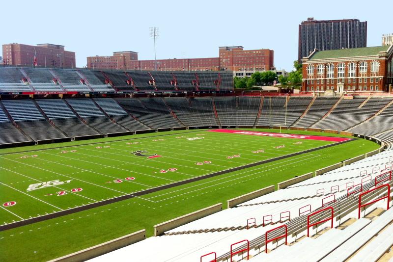 University of Cincinnati - Nippert Stadium, Bearcats football team