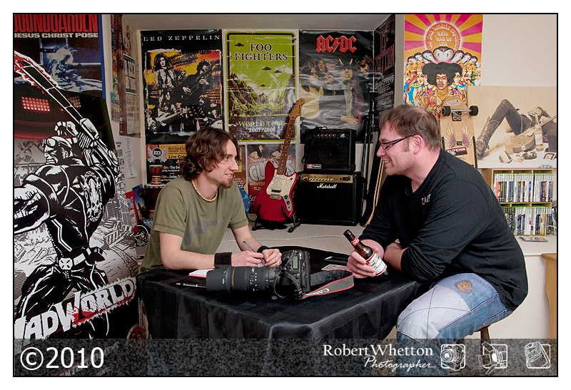 Interview with Dorset Rock Online. Photography by Robert Whetton Events Photographer