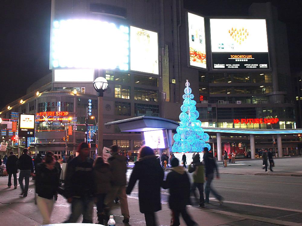 Light pollution Toronto